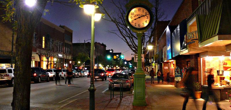 Downtown Traverse City, MI