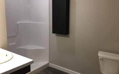 Bathroom at Boardman Flats, Traverse City, MI