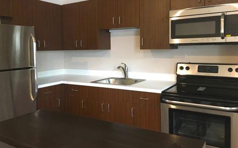 Kitchen at Boardman Flats - Traverse City, MI